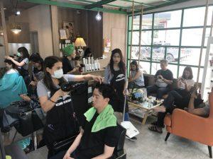 バンコク美容室マンチクチン営業