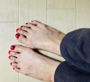 お風呂屋さん行って足がポカポカなるのが、たまらんねん...。♨️
