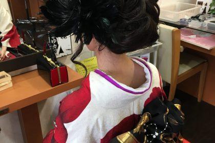 バンコク美容室成人式