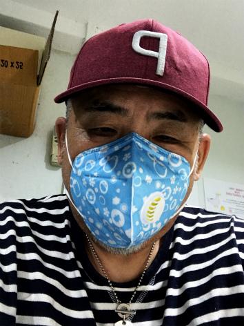 美容室PM2.5対策おばはんパンツの柄